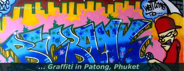 Graffiti in Thailand