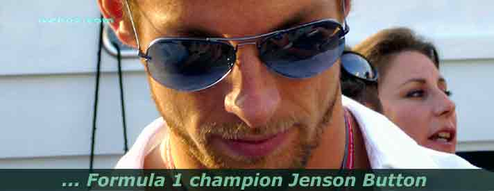 photo from Jenson Button