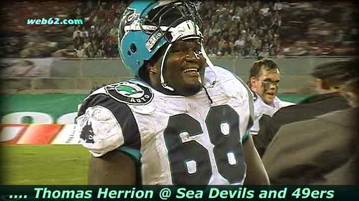 Photo from 49ers Thomas Herrion @ the Sea Devils