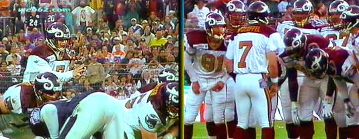 Photo from Danny Wuerffel Saints Redskins
