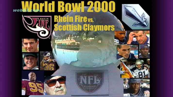 Photo from World Bowl 2000