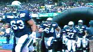 Scottish Claymores at World Bowl 2000