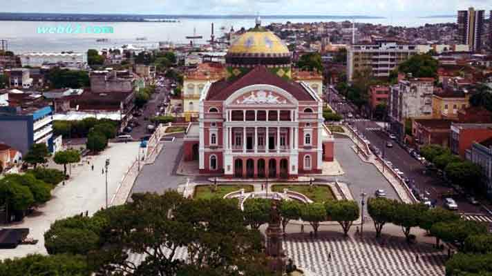 Manaus Teatro Amazonas Amazon Theater