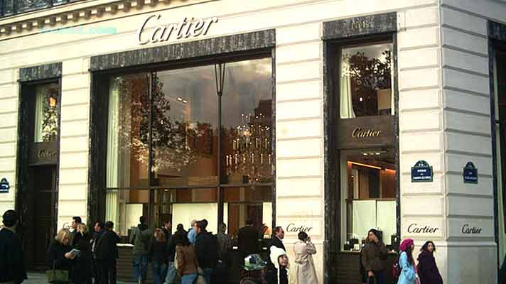 Cartier store in Paris