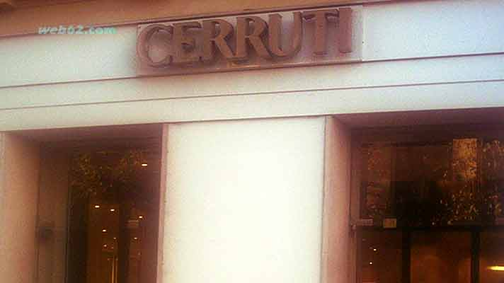 Nino Cerruti in Paris