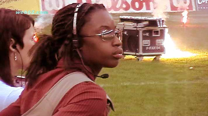 e18c888440f Kimberly Cole video interview and gameday photos @ web62.com Internet TV