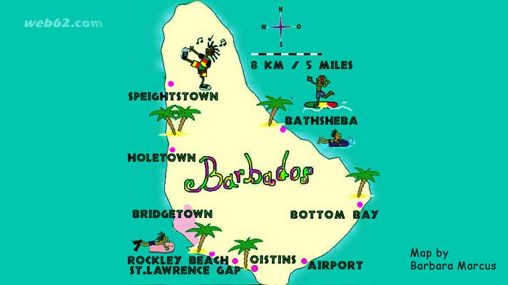 photo view on Barbados