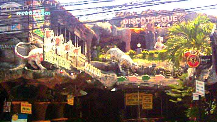 phuket tiger bar bangla road thailand