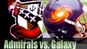 Galaxy vs. Admirals